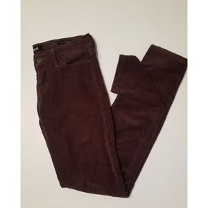 BDG Mid-Rise Chocolate Corduroy Pants